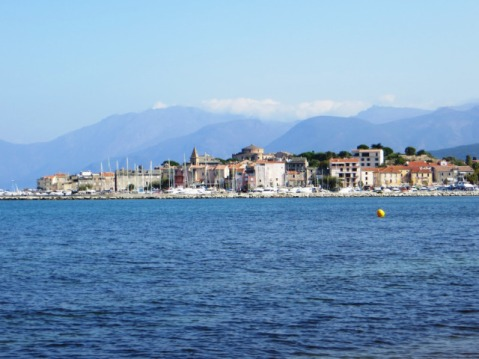 Saint-Florent, Corsica, the island beloved of Maria