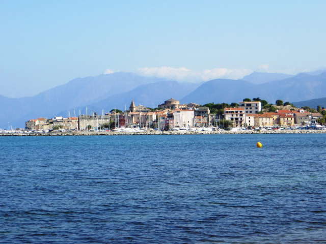 Saint-Florent at the base of Cap Corse