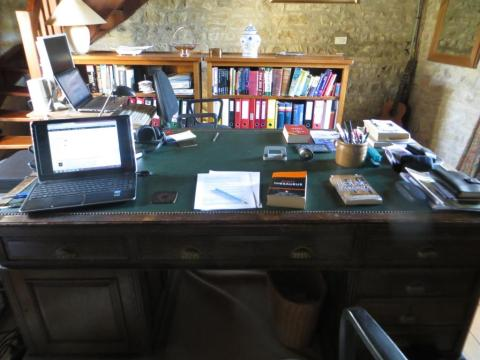 Where the writing gets done - or not...