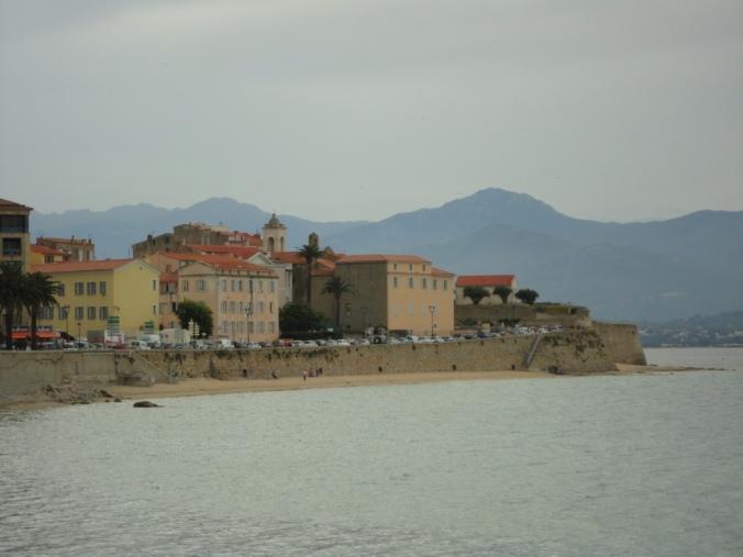 The Old Town in Ajaccio, Corsica