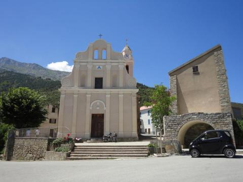 Church at Saint-Pietro de Venaco, Corsica