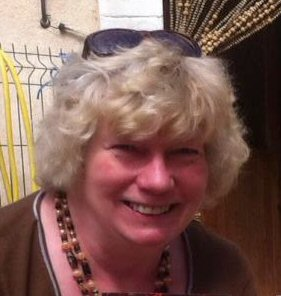 Author and editor, Sue Barnard