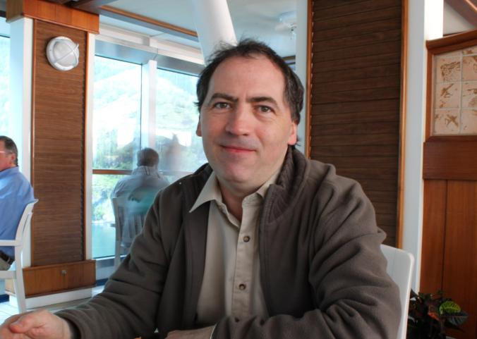 Author Tim Taylor