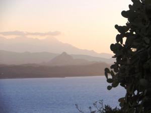 Romantic Corsican landscape