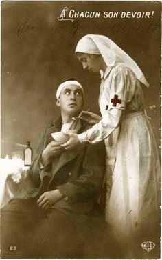 World War I - military nurse