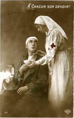 World War I - military nurse