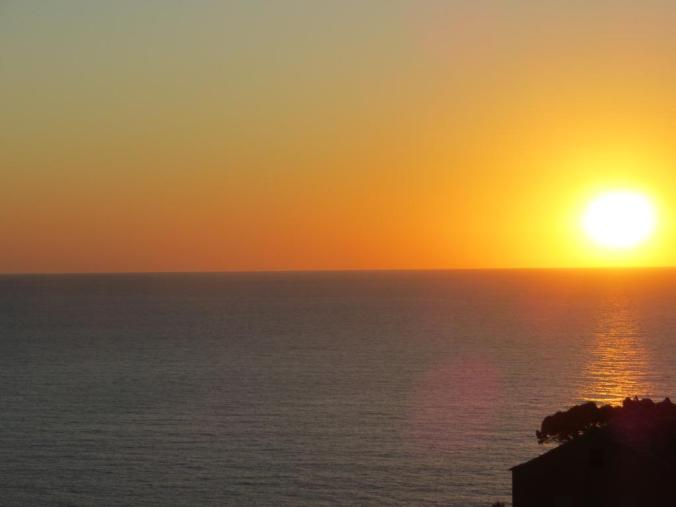 Sunset on Corsica - well worth procrastinating for
