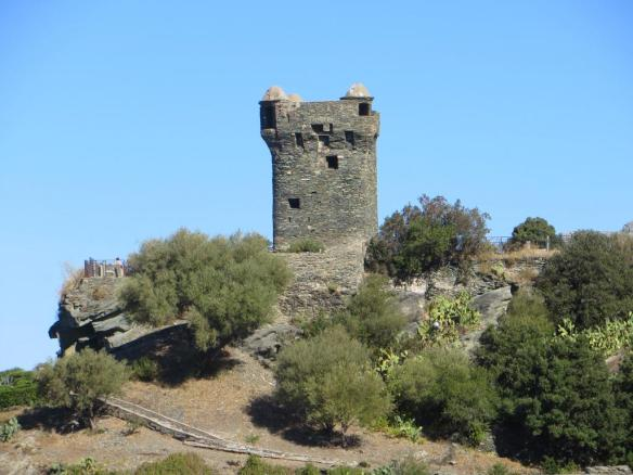 The Paoline Tower at Nonza