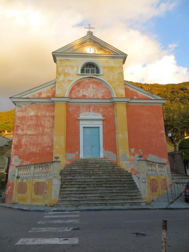 Nonza - church