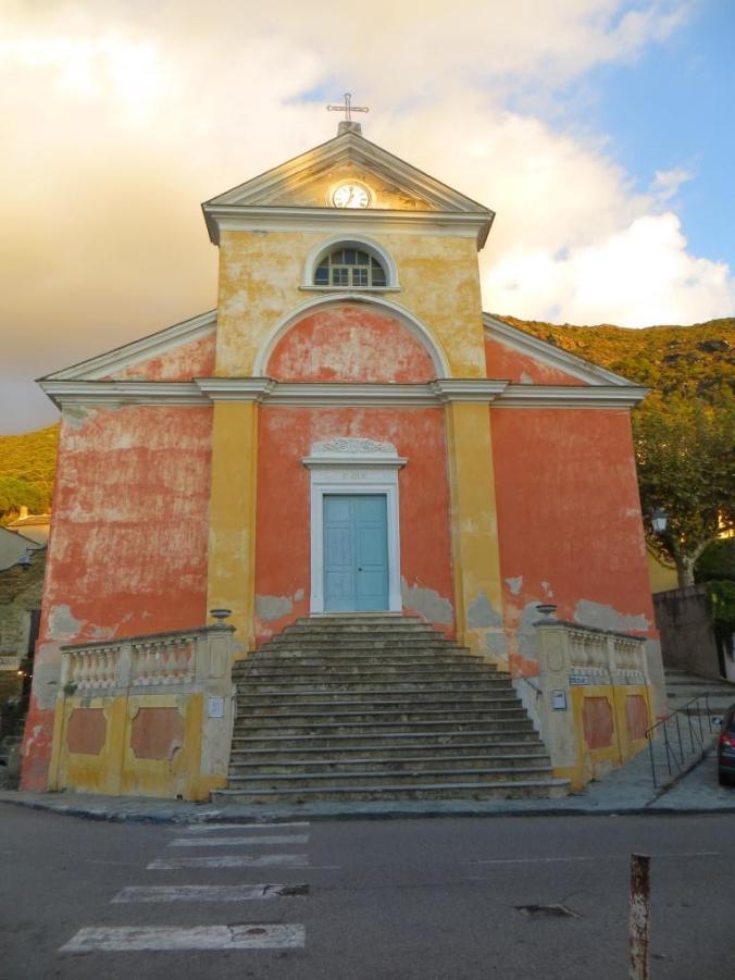 Church at Nonza