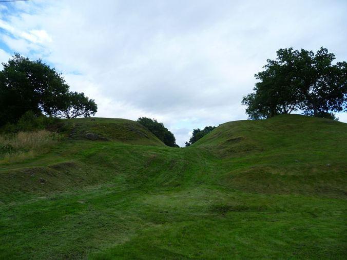 The Antonine Wall, Rough Castle, near Falkirk