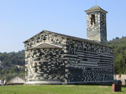 Pisan church at Murato. Ancient rites dated from long before Christianity.