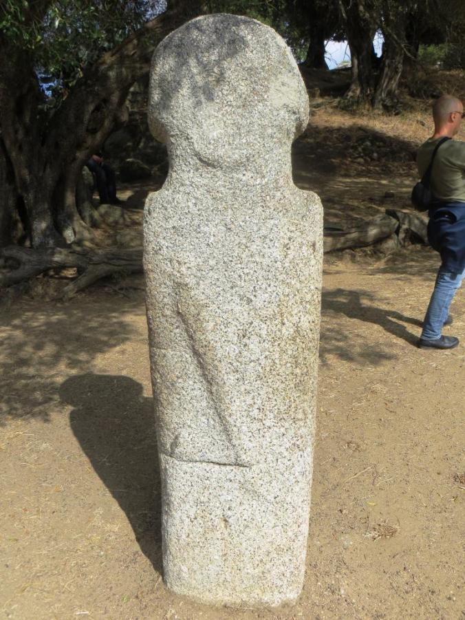 Menhir at the prehistoric site of Filitosa. Did they invest their statues with supernatural powers?