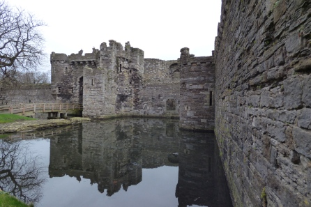 Beaumaris Castle in Wales