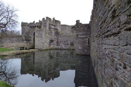 Beaumaris Castle in Wales