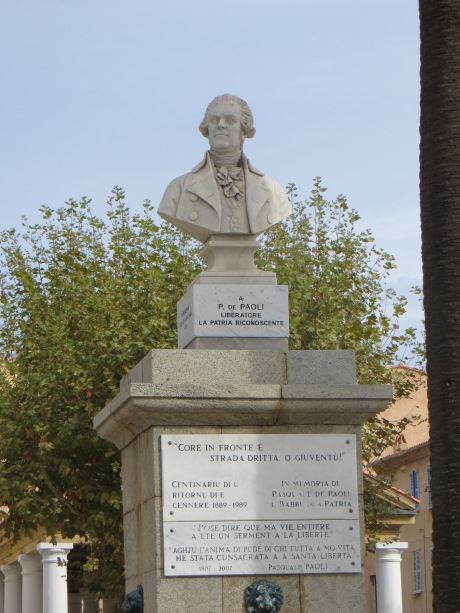Pasquale Paoli bust