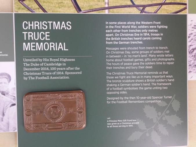 Christmas Truce Memorial 1