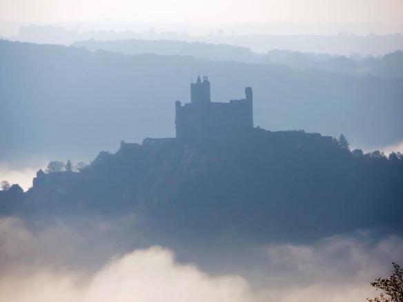 Najac in the mist 2