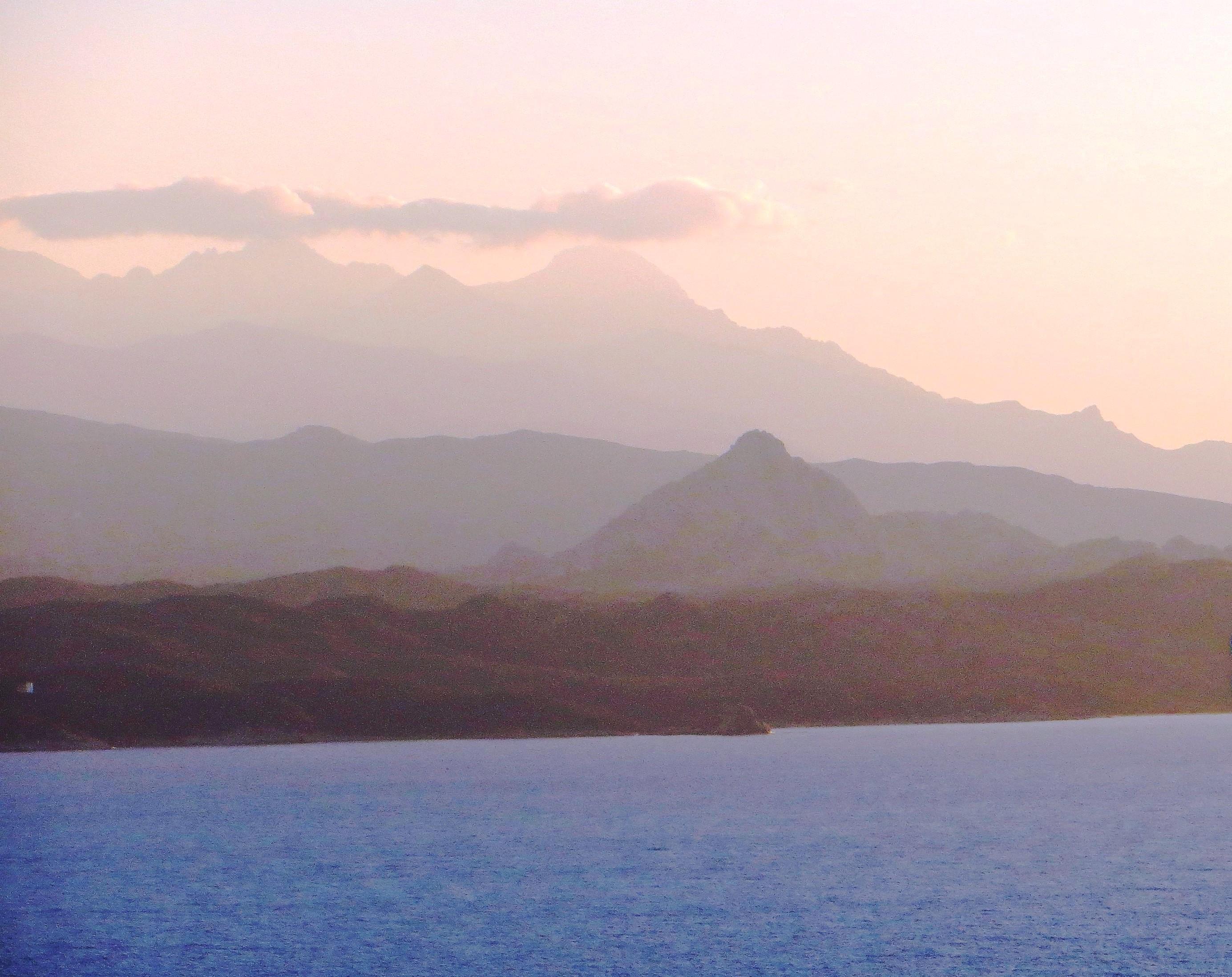 Corsican landscape cropped